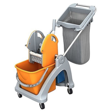 Cleankeeper Einfachfahrwagen 3 mit Deichsel