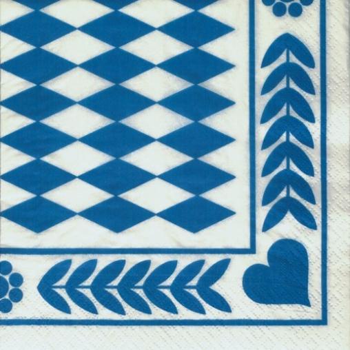 Papstar Dekoservietten, 1/4-Falz, 33 cm x 33 cm