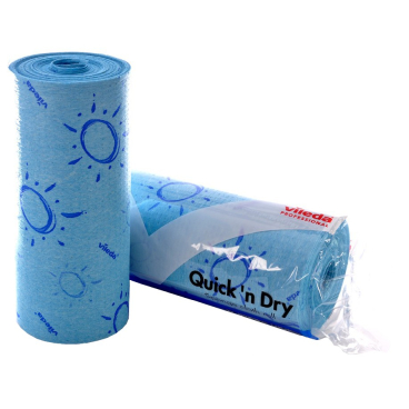 Vileda Quick ´n´ Dry Rolle 1 Karton = 4 Rollen