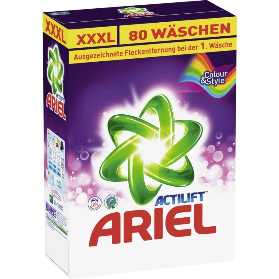 ariel actilift colorwaschmittel 5 2 kg paket f r ca 80 waschladungen online kaufen