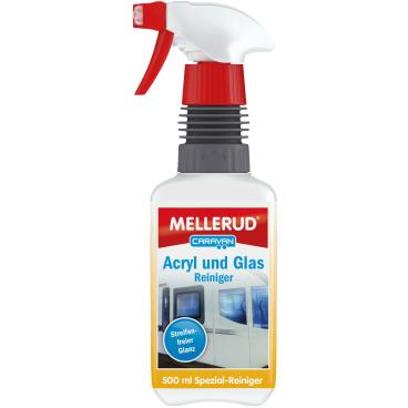 MELLERUD CARAVAN Acryl und Glas Reiniger 500 ml - Sprühflasche