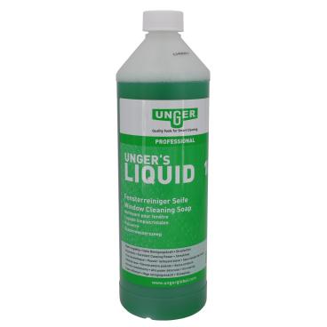 UNGER´S LIQUID Fensterreiniger Seife 1000 ml - Flasche