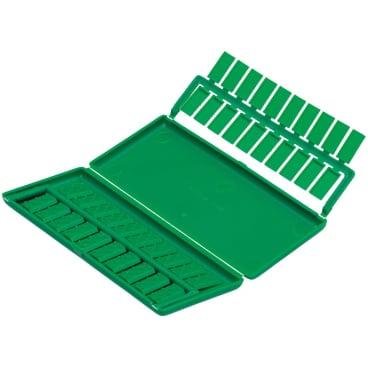 UNGER PLASTIC CLIPS™ und MESSING CLIPS™ 1 Box = 100 Stück, Messing, einzeln entnehmbar
