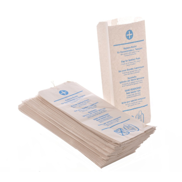 Hygienebeutel 1 Paket = 10 Bündel à 100 Stück