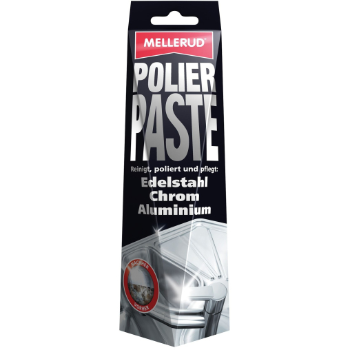 MELLERUD POLIERPASTE für Edelstahl, Chrom und Aluminium