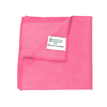 UNGER SmartColor™ MicroWipe™ 4000 Microfasertuch Maße: 40 x 38 cm, Farbe: rot