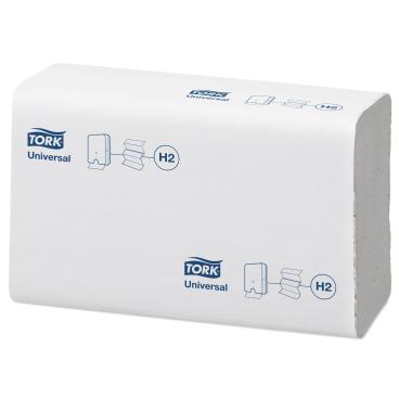 Tork Xpress® Papierhandtücher H2 Universal, 21 x 23,5 cm, 2-lagig 1 Karton = 20 x 237 Tücher