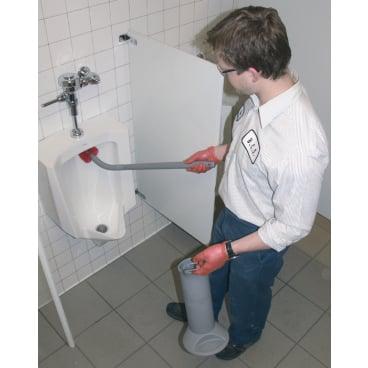 UNGER Ergo Toilettenbürste Ersatzteile 1 Set = 2 Bürsten und 1 Stiel