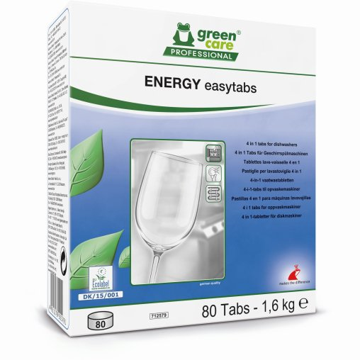 TANA green care ENERGY easytabs Geschirrreiniger-Tabs