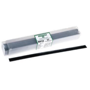 UNGER Wischergummi-Box 1 Box = 25 Stück, 45 cm breit, soft