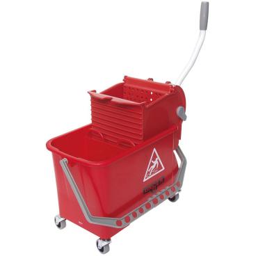 UNGER SmartColor™ Sanitär Combo 15 l Farbe: rot