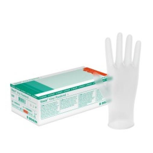 B. Braun Vasco® Vinyl Powdered - Einmalhandschuhe