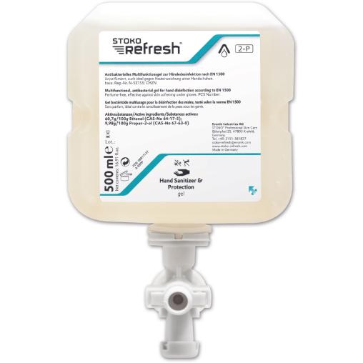 STOKO® Refresh Hand Sanitizer & Protection - Gel (2-P)
