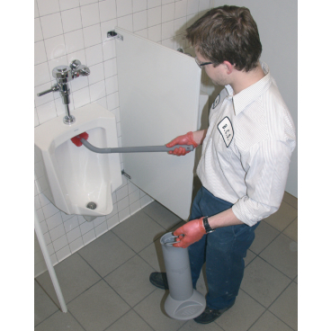 UNGER Ergo Toilettenbürste Halter Der Behälter isoliert Verunreinigungen