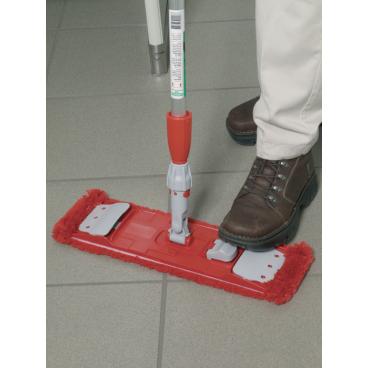 UNGER Sanitär Mophalter Format: 40 x 10,5 cm, Farbe: rot