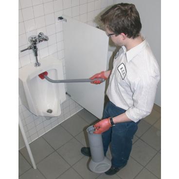 UNGER Ergo Toilettenbürste Topf, Bürste und ein Ersatzbürstenkopf