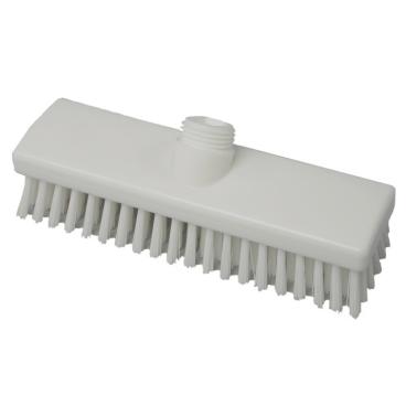 Hygiene-Schrubber, 225 x 60 mm Besatzfarbe/-höhe: weiß, 30 mm