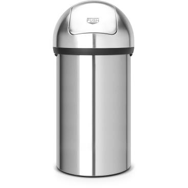 Brabantia Push Bin Abfallbehälter, 60 Liter