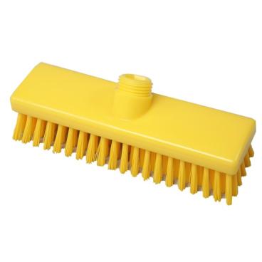 Hygiene-Schrubber, 225 x 60 mm Besatzfarbe/-höhe: gelb, 30 mm