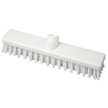 Hygiene-Schrubber, 280 x 50 mm Besatzfarbe/-höhe: weiß, 30 mm