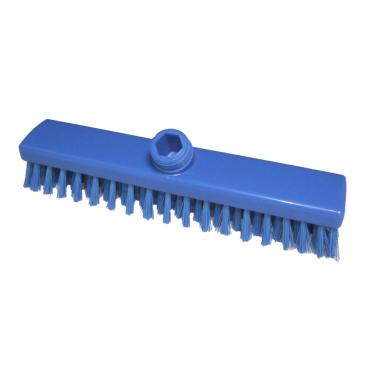 Hygiene-Schrubber, 280 x 50 mm Besatzfarbe/-höhe: blau, 30 mm