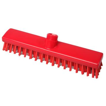 Hygiene-Schrubber, 280 x 50 mm Besatzfarbe/-höhe: rot, 30 mm