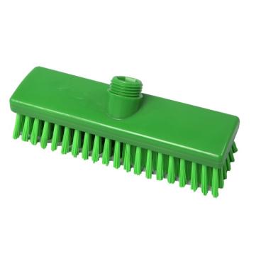 Hygiene-Schrubber, 225 x 60 mm Besatzfarbe/-höhe: grün, 30 mm