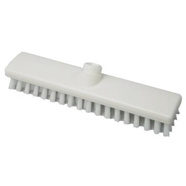 Hygiene-Schrubber, 300 x 60 mm Besatzfarbe/-höhe: weiß, 25 mm