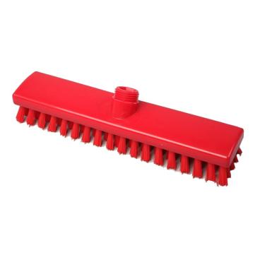Hygiene-Schrubber, 300 x 60 mm Besatzfarbe/-höhe: rot, 25 mm