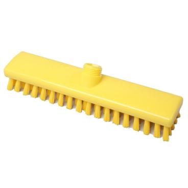 Hygiene-Schrubber, 300 x 60 mm Besatzfarbe/-höhe: gelb, 25 mm
