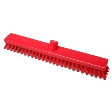 Hygiene-Schrubber, 400 x 50 mm Besatzfarbe/-höhe: rot, 30 mm
