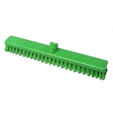 Hygiene-Schrubber, 400 x 50 mm Besatzfarbe/-höhe: grün, 30 mm
