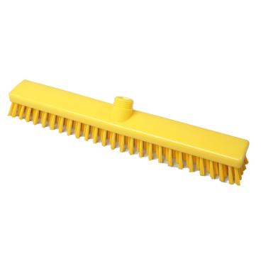 Hygiene-Schrubber, 400 x 50 mm Besatzfarbe/-höhe: gelb, 30 mm