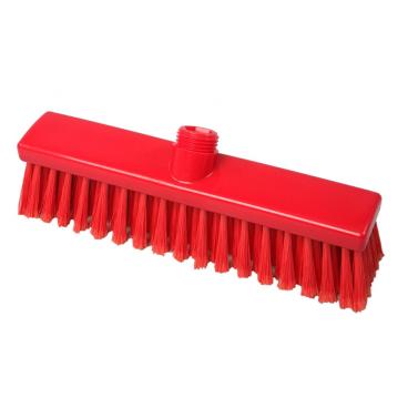 Hygiene-Besen, 280 x 50 mm Besatzfarbe/-höhe: rot, 55 mm