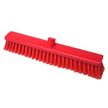 Hygiene-Großraumbesen, 400 x 50 mm Besatzfarbe/-höhe: rot, 55 mm