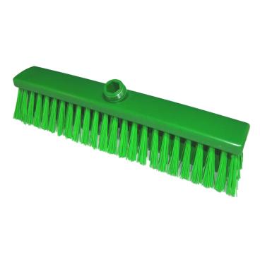 Hygiene-Großraumbesen, 600 x 60 mm Besatzfarbe/-höhe: grün, 55 mm