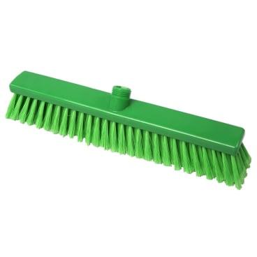 Hygiene-Großraumbesen, 400 x 50 mm Besatzfarbe/-höhe: grün, 55 mm