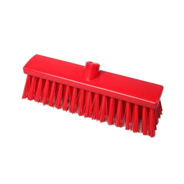 Hygiene-Besen, 300 x 60 mm Besatzfarbe/-höhe: rot, 65 mm