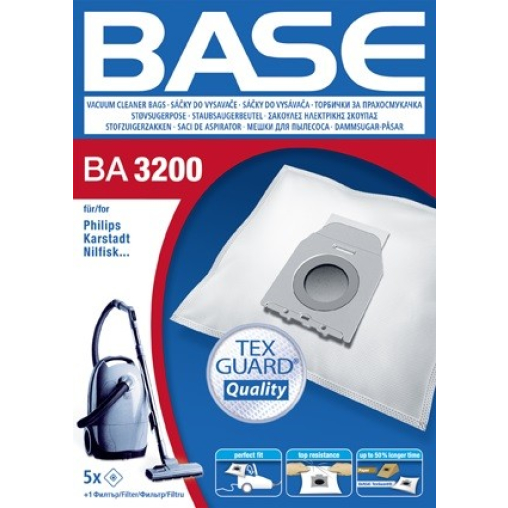 BASE Staubsaugerbeutel BA 3200