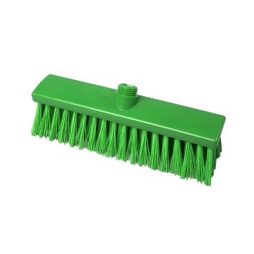 Hygiene-Besen, 300 x 60 mm Besatzfarbe/-höhe: grün, 65 mm