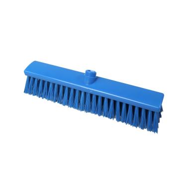 Hygiene-Großraumbesen, 400 x 60 mm Besatzfarbe/-höhe: blau, 65 mm