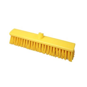 Hygiene-Großraumbesen, 400 x 60 mm Besatzfarbe/-höhe: gelb, 65 mm