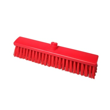Hygiene-Großraumbesen, 400 x 60 mm Besatzfarbe/-höhe: rot, 65 mm