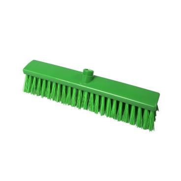 Hygiene-Großraumbesen, 400 x 60 mm Besatzfarbe/-höhe: grün, 65 mm