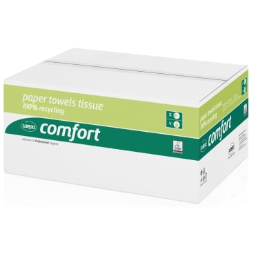 Wepa comfort Falthandtuchpapier 25 x 23 cm, 2-lagig