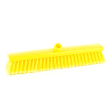 Hygiene-Großraumbesen, 400 x 50 mm Besatzfarbe/-höhe: gelb, 55 mm