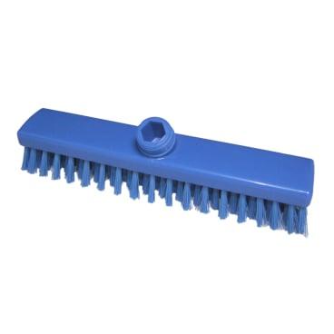 Hygiene-Schrubber, 400 x 50 mm Besatzfarbe/-höhe: blau, 30 mm