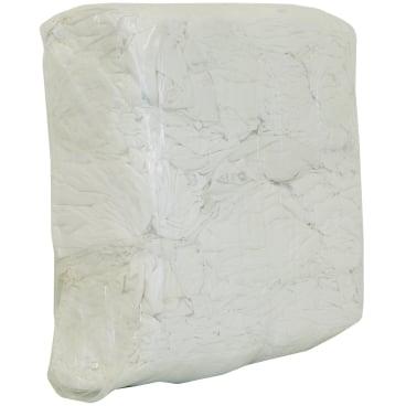 Putzlappen aus weißer Bettwäsche