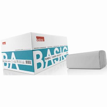 SATINO Basic ZZ-Fold Handtuchpapier, 25 x 23 cm