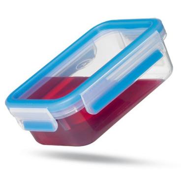 EMSA Clip & Close Frischhaltedose rechteckig, Großformat Fassungsvermögen: 2,3 Liter